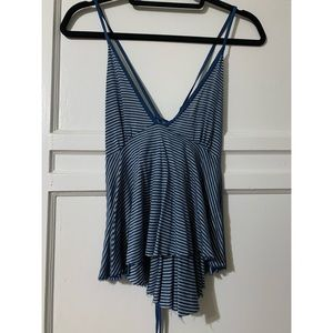 Urban Outfitters Truly Madly Deeply Striped Tank